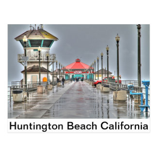 Postal Embarcadero 'California de Huntington Beach