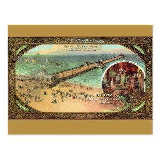 Postal Embarcadero de Atlantic City del vintage