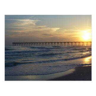 Postal Embarcadero de la playa de Pensacola