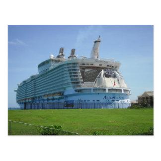Postal Embarcadero del barco de cruceros de Falmouth