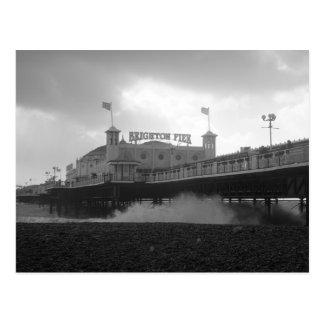 Postal Embarcadero del palacio de Brighton durante una