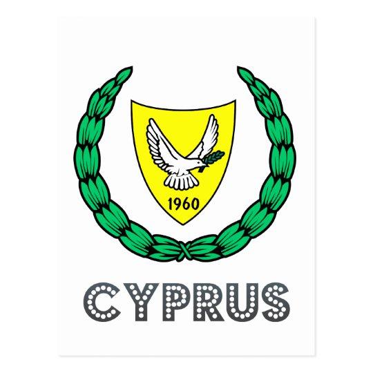 Postal Emblema chipriota