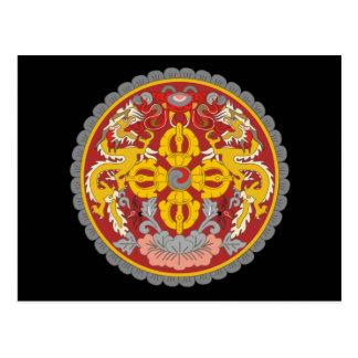 Postal emblema de Bhután