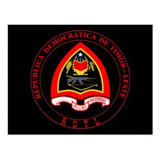 Postal emblema de Timor Oriental