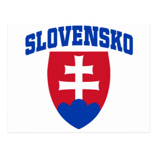 Postal Emblema eslovaco