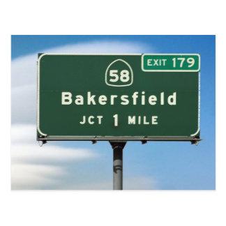 Postal Empalme de Bakersfield de la carretera 58 de CA