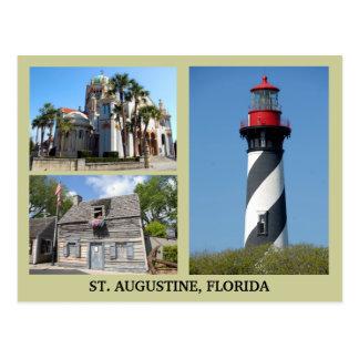 Postal Emplazamientos turísticos de St Augustine