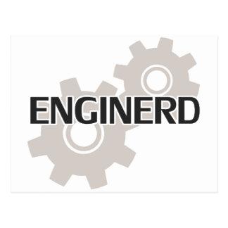 Postal Empollón del ingeniero de Enginerd