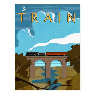 Postal En tren