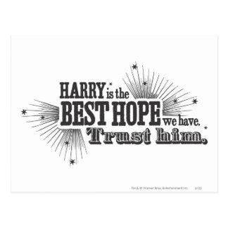 Postal Encanto el | de Harry Potter nuestra mejor