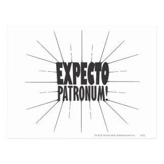 Postal ¡Encanto el | Expecto Patronum de Harry Potter!