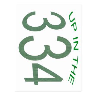 POSTAL ENCIMA DE ADENTRO 334 (VERDE)