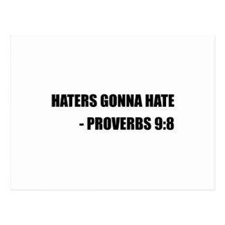 Postal Enemigos que van a odiar proverbios