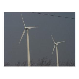 Postal Energía eólica en Minnesota y Dakota del Sur