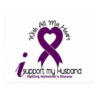 Postal Enfermedad de Alzheimers apoyo a mi marido