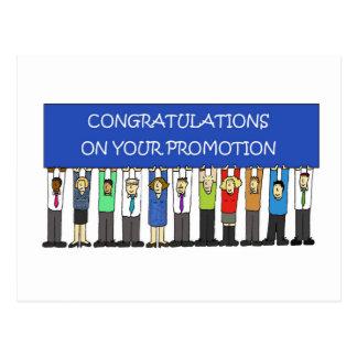 Postal Enhorabuena de la promoción