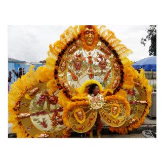 Postal Enmascarado del carnaval, Trinidad and Tobago
