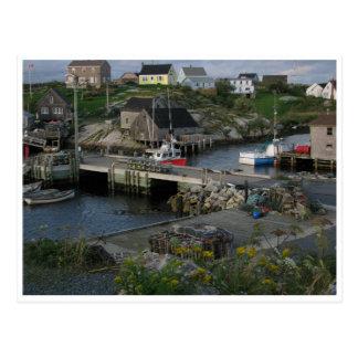 Postal Ensenada Halifax Nueva Escocia Canadá de Peggys