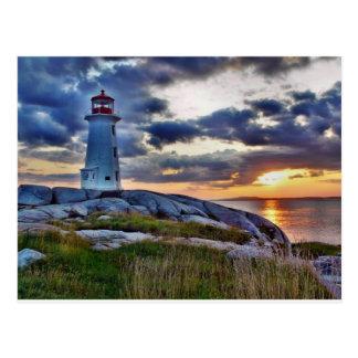 Postal Ensenada Nueva Escocia Canadá de Peggies