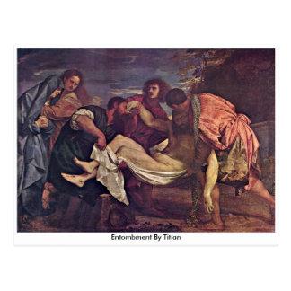 Postal Entombment por Titian