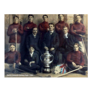 Postal Equipo de hockey 1903 de los crecientes de Perth