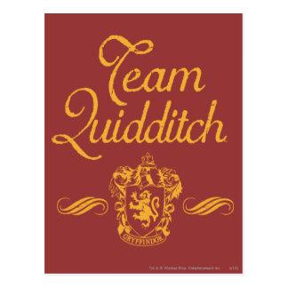 Postal Equipo QUIDDITCH™ de Harry Potter el |
