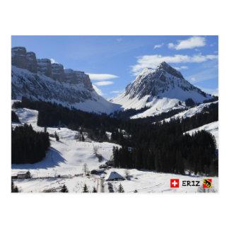 Postal Eriz, Bernese Oberland, Suiza