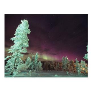 Postal Escandinavia, Finlandia, Laponia, Kakslauttanen,