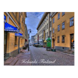 Postal Escena de la ciudad de Helsinki Finlandia