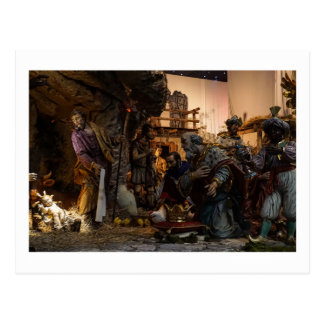 Postal Escena de la natividad en el Vatican
