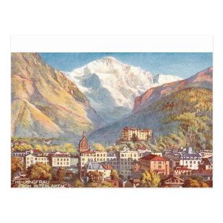 Postal Escena pintoresca de Suiza