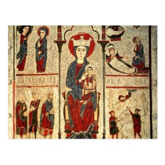 Postal Escenas a partir de la vida de la Virgen