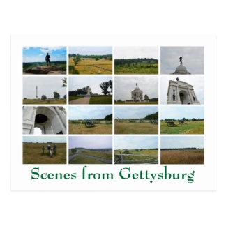 Postal Escenas de Gettysburg