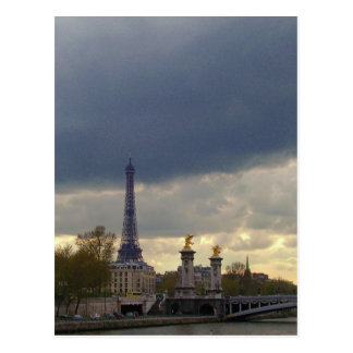 Postal Escenas de París