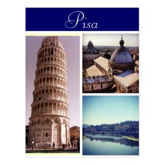 Postal Escenas de Pisa