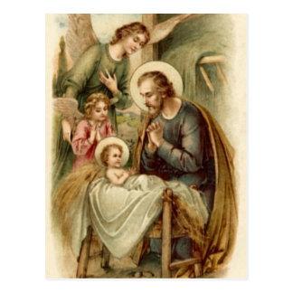 Postal (escritura): Natividad de San José