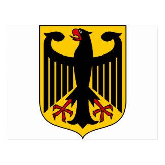 Postal Escudo de armas DE de Alemania