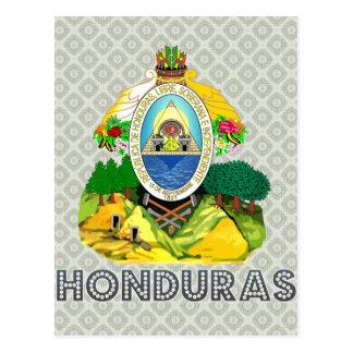 Postal Escudo de armas de Honduras