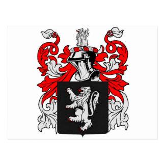 Postal Escudo de armas de Lewis