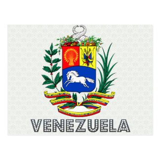 Postal Escudo de armas de Venezuela