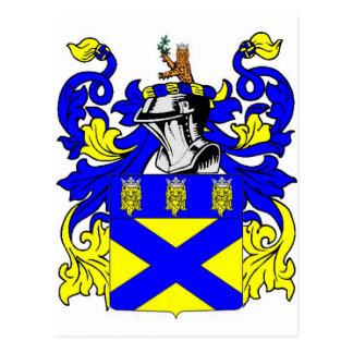 Postal Escudo de armas (inglés) del tonelero