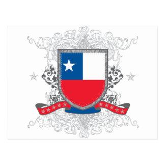 Postal Escudo de Chile