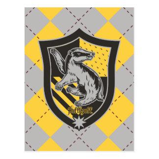 Postal Escudo del orgullo de la casa de Harry Potter el |