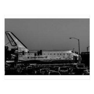Postal Esfuerzo del transbordador espacial en el foro