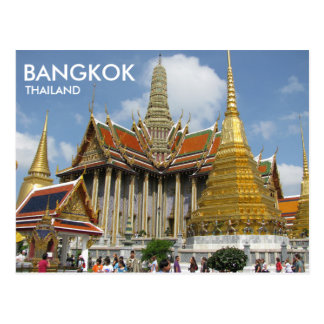 Postal Esmeralda Buda de Bangkok Tailandia Wat Phra Kaew