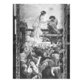 Postal Esmeralda y Quasimodo, 1905