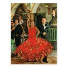 Postal España, bailarines del flamenco