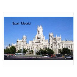 Postal España, Madrid ayuntamiento Plaza de Cibeles