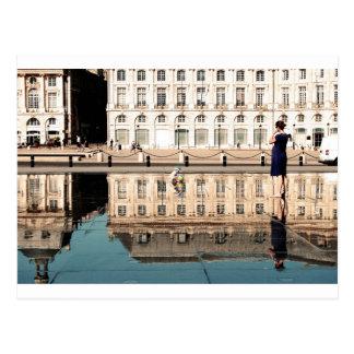 Postal Espejo del agua en Burdeos