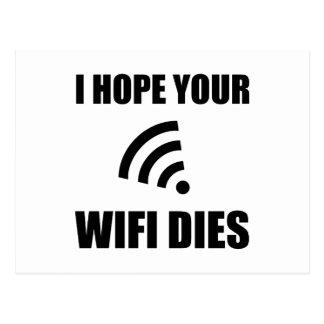 Postal Espere sus dados de Wifi